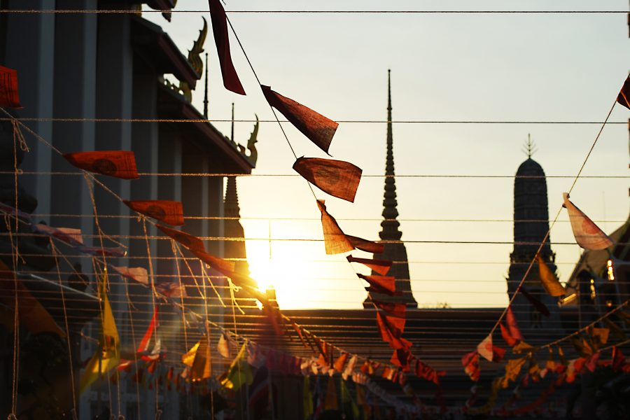 temple+flags