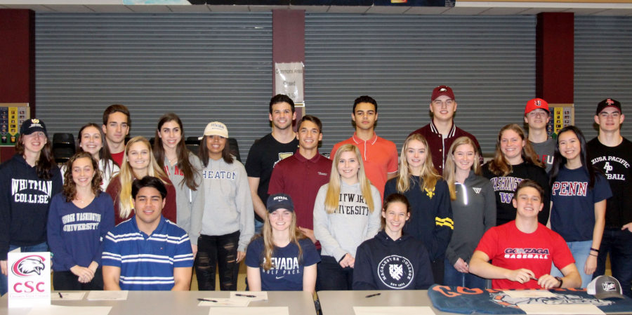 On National Signing Day, MIHS Athletes Become Collegiate Athletes