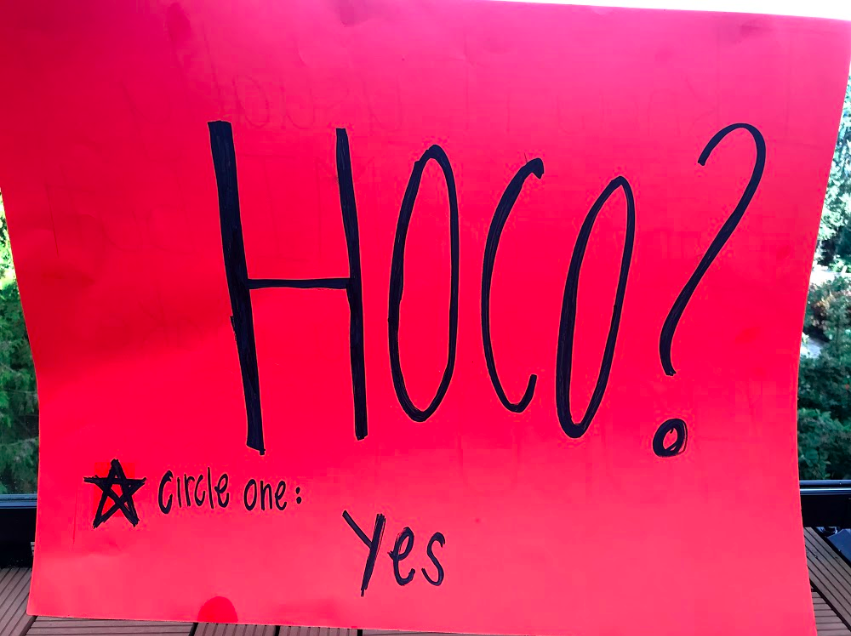 You Can't Say No to a Homecoming Ask, Right?