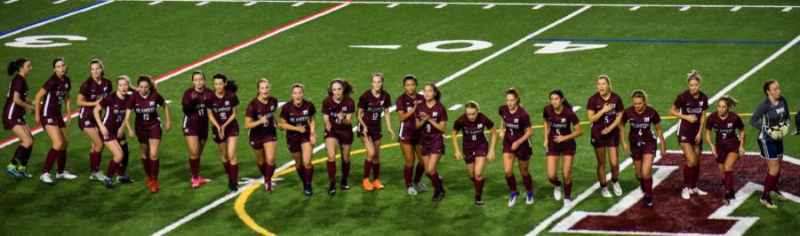 Girls Soccer Ends Winning Streak Against Prairie in Quarterfinals