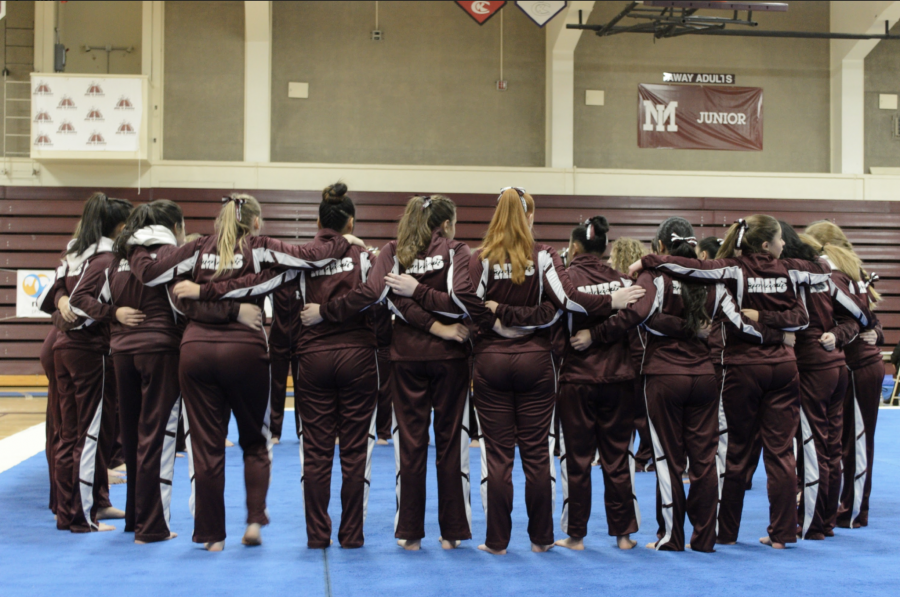 Gymnastics+Scores+High+in+Second+Meet+of+the+Season