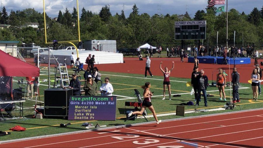 Track and Field Shines at Districts