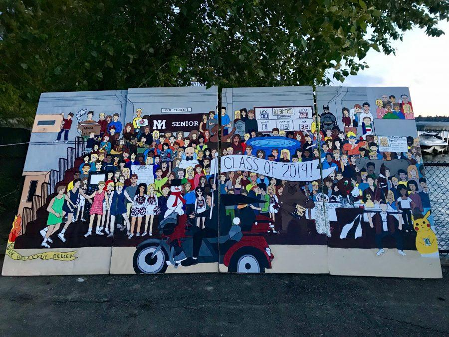 Where is the 2019 Senior Mural?