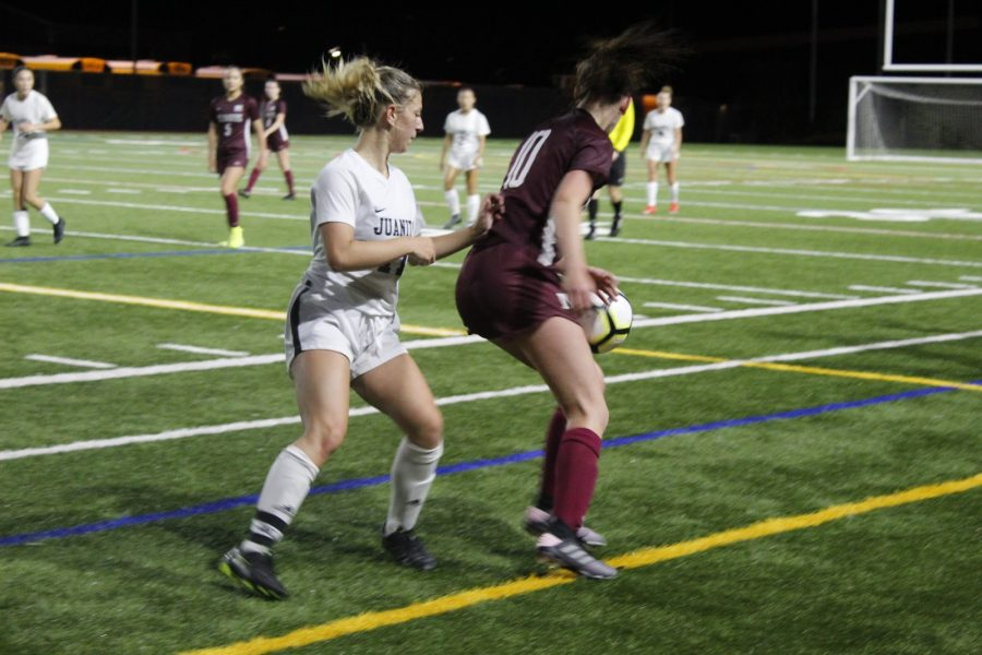 Girls Soccer Wins First Conference Matchup