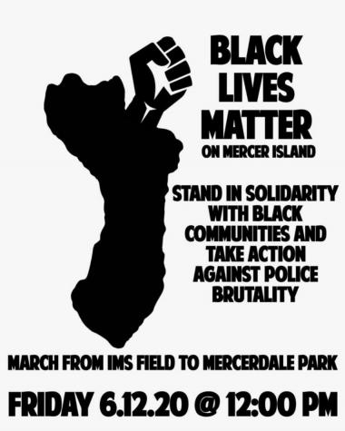 Mercer Island Black Lives Matter Protest