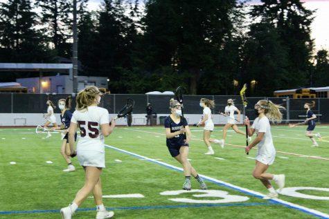 MIHS Girls Lacrosse Defeats Bainbridge in Rivalry Game