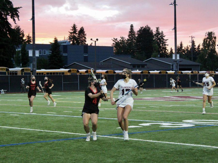 Mercer Island Girls Lacrosse Finishes Season Undefeated After Senior Night Win